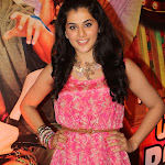 Tapasee Pannu Super Sexy Legs Show At The Film 'Chashme Baddoor' Music Launch