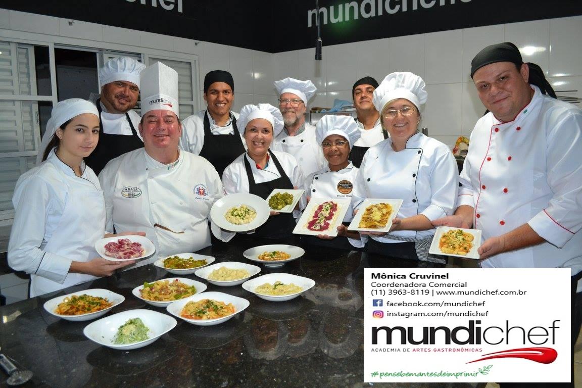 Curso Profissional de Cozinha Italiana - Mundi Chef Academia de Artes Culinárias