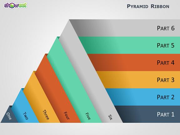 Favorit Pyramides modernes pour Powerpoint ~ Modèles gratuits pour  MI69