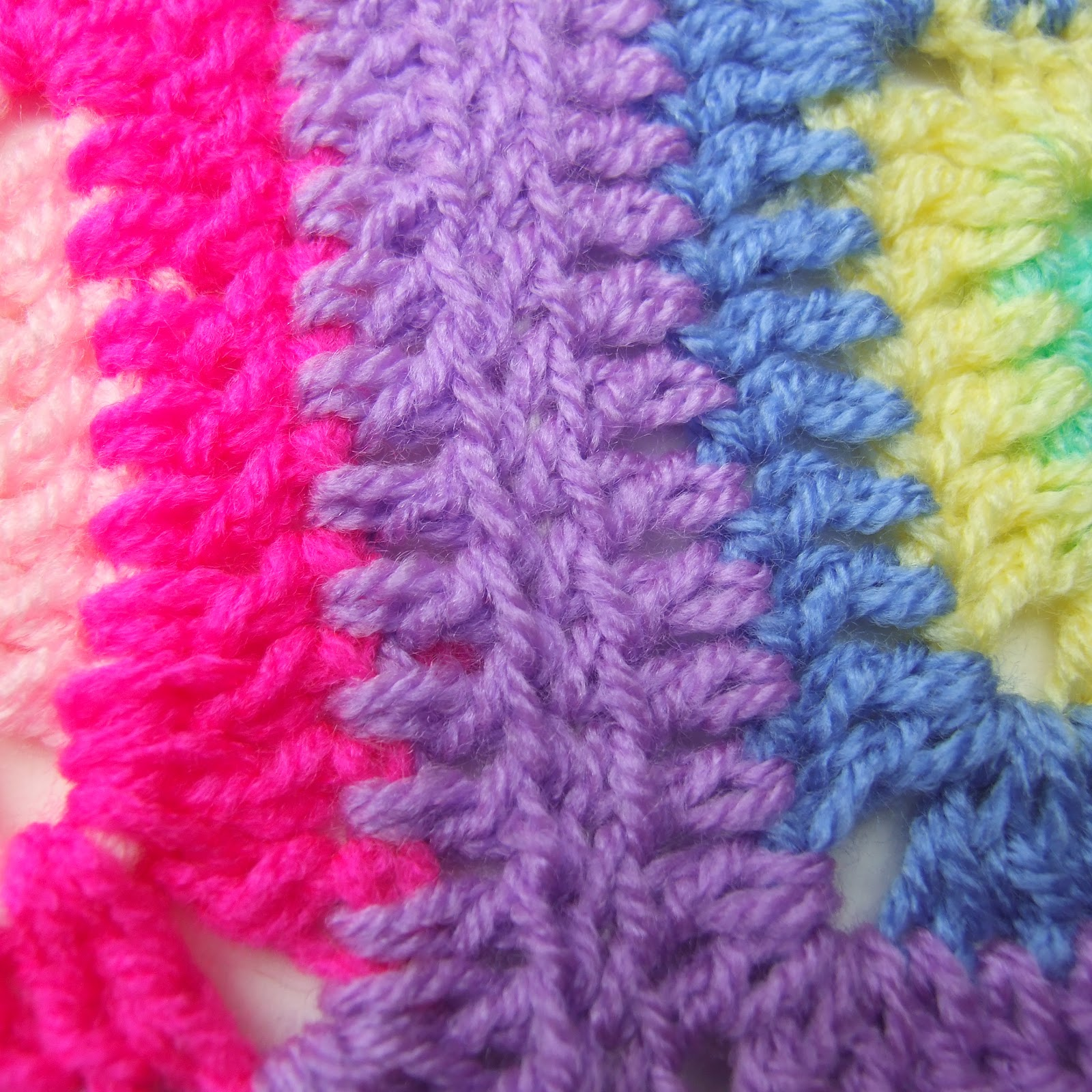 Crochet Stitches To Join Granny Squares : ... (Reverse Mattress Stitch) - Joining Crochet Squares - leonie morgan