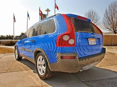 Exemplo de carro de Lego