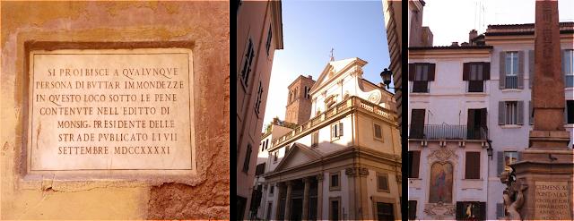 central rome, piazza navona, pizzeria roma