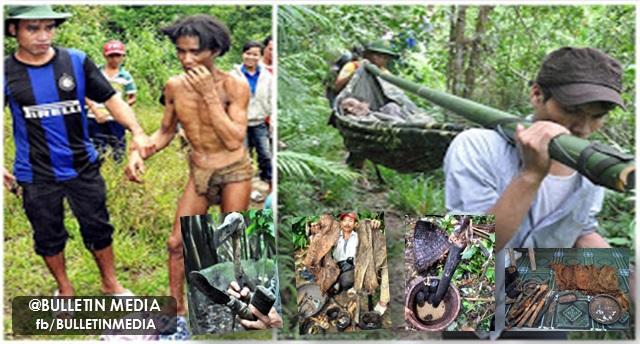 [17 FOTO] Bapa dan anak tinggal dalam hutan selama 40 tahun, lihat apa yang mereka makan amat mengejutkan sekali !!!