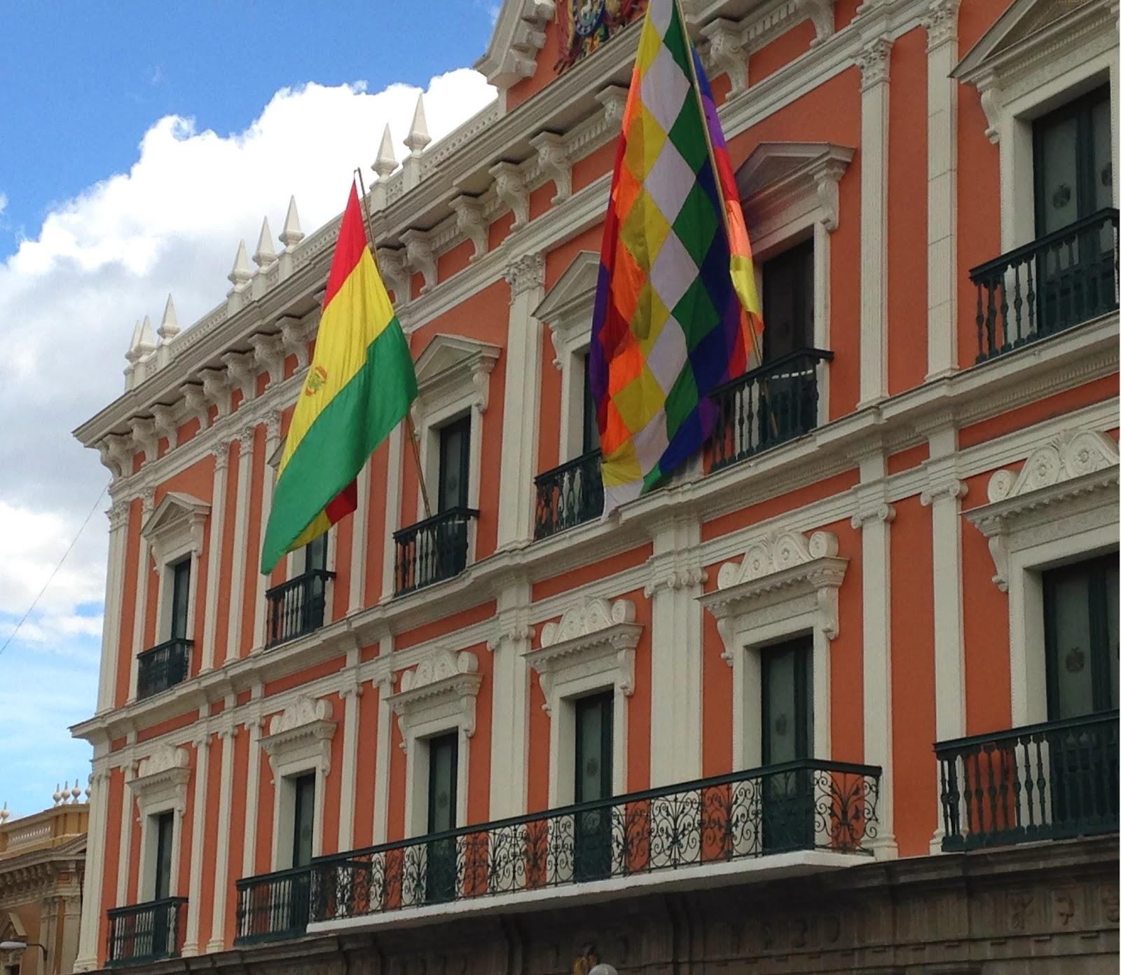 la paz bolivia president house
