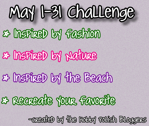 Month Of May Themes The challenge has four themes