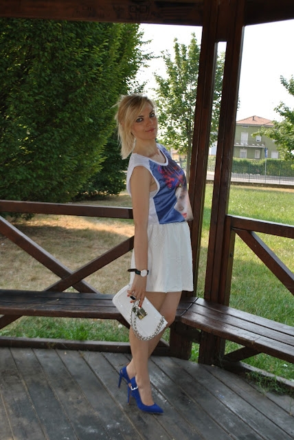 outfit scarpe blu come abbinare le scarpe blu abbinamenti scarpe blu blue heels how to wear blue heels blue heels outfit blue heels street style mariafelicia magno fashion blogger color block by felym fashion blog italiani fashion blogger milano fashion blogger bergamo blog di moda blogger italiane di moda scarpe blu zara