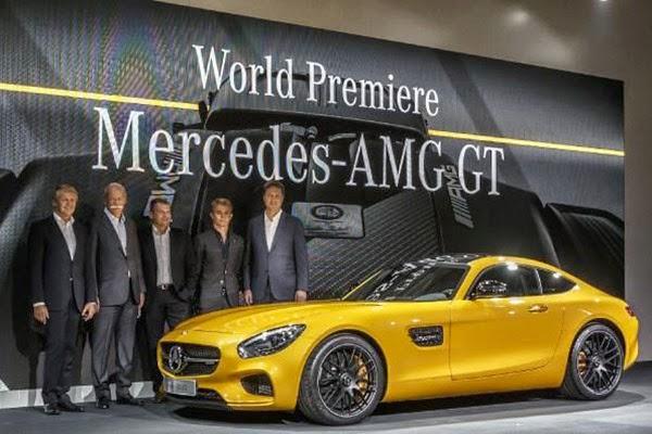 Mercedes AMG GT Fiyatı! Mercedes Amg Gt Özellikleri Resimleri!
