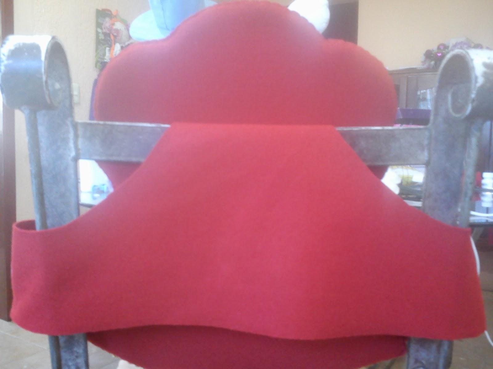 Creaciones y manualidades chayito cubre sillas navide o for Sillas para imprimir