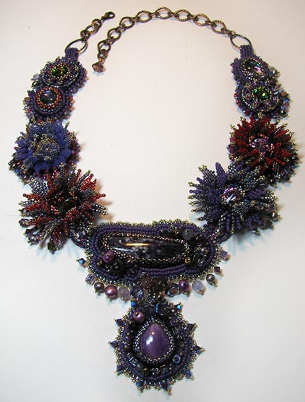 Beading arts bead embroidery tutorials from the archives