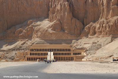 Templo de Hatshepsut,  Luxor - Viaje a Egipto