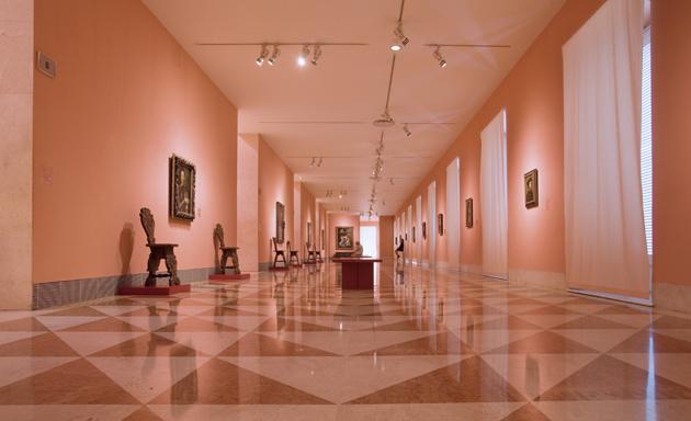 The Thyssen-Bornemisza Museum in Madrid