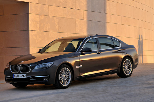 BMW Series Luxury Models Front view