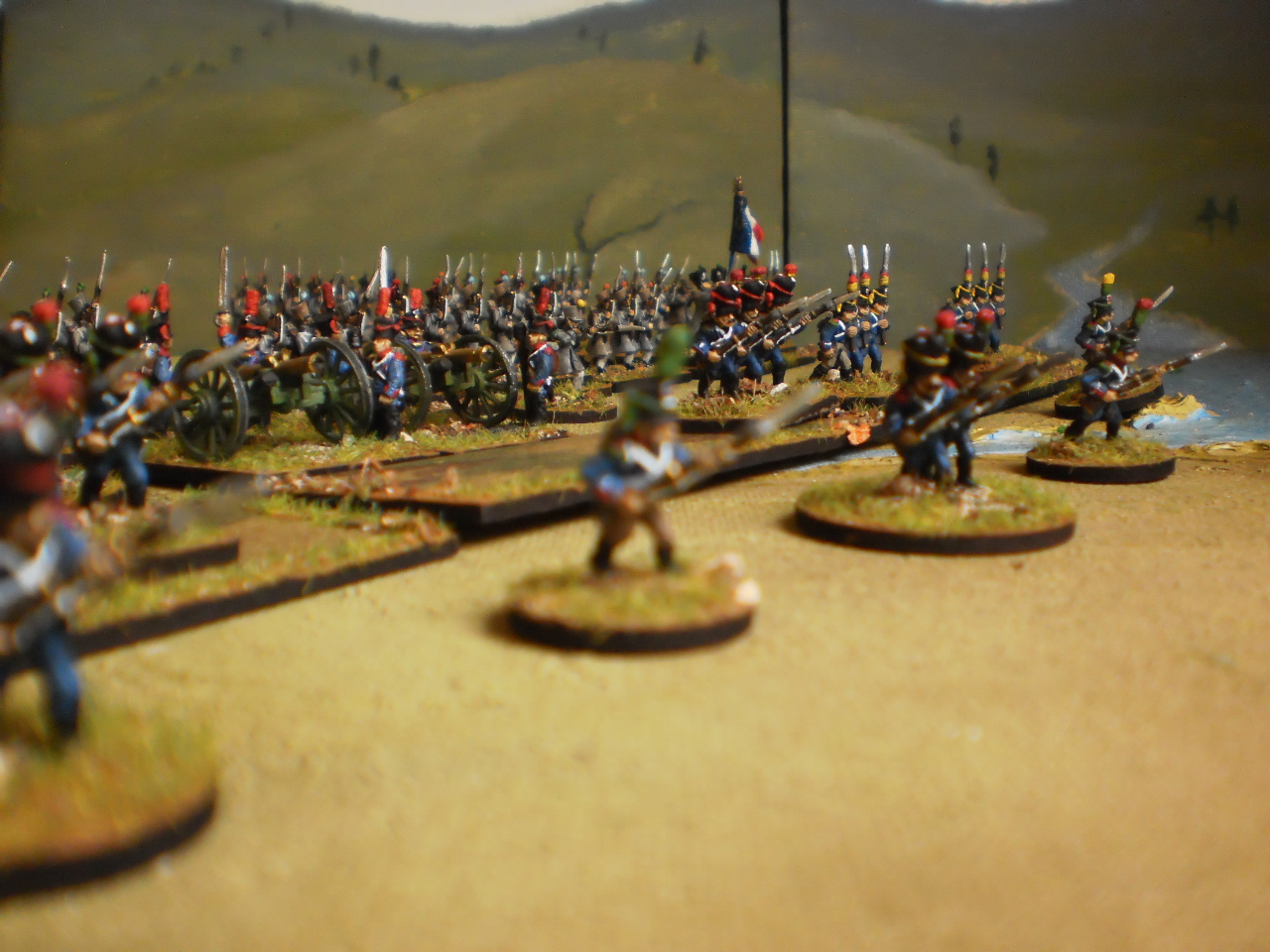 15mm madness french division 1813 - French div 2 ...