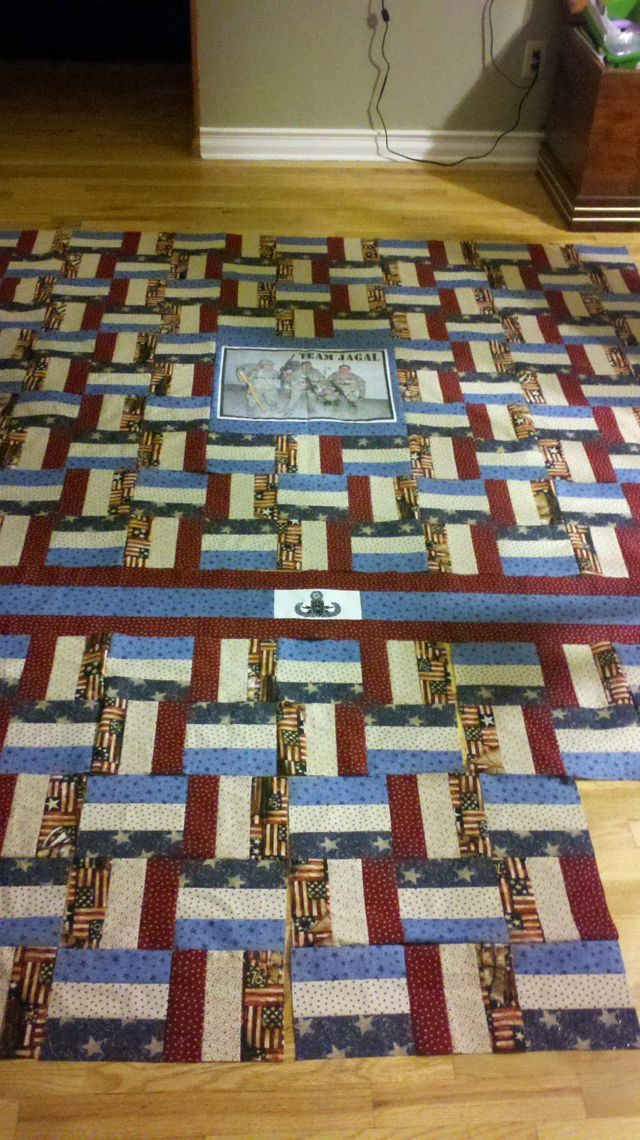 Pie In The Big Sky Eod Wounded Warrior Quilt 2011