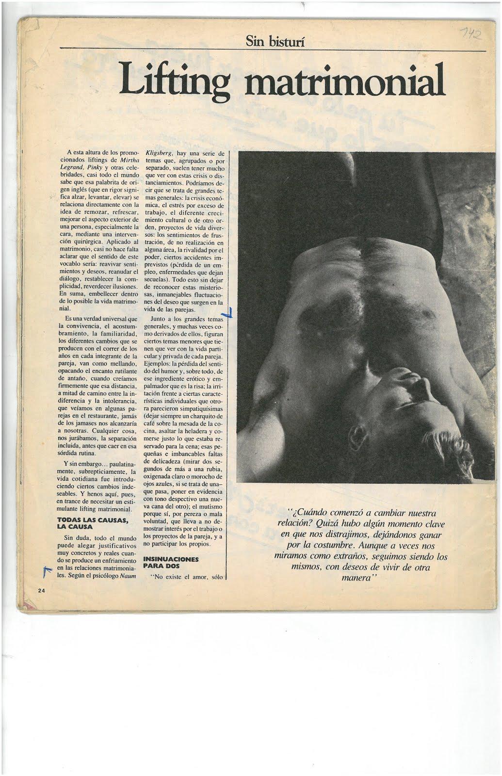 60 - REVISTA VOSOTRAS, ARGENTINA, N° 2661. ENTREVISTA A