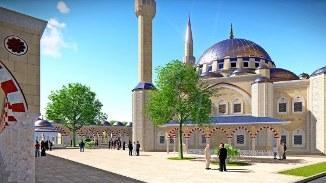 ☪ A apărut proiectul Marii Moschei ce ar urma să fie construită la București (FOTO)