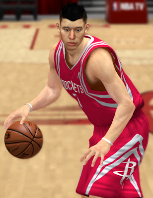 NBA 2K13 Jeremy Lin Cyberface Mod Patch