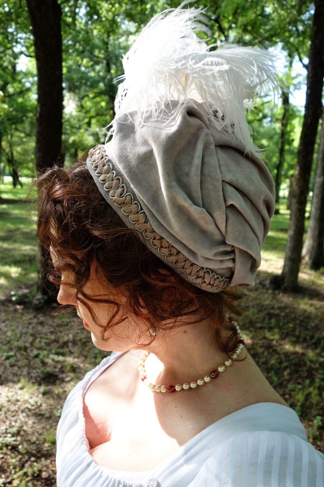 Festive Attyre: Regency turban cap tutorial