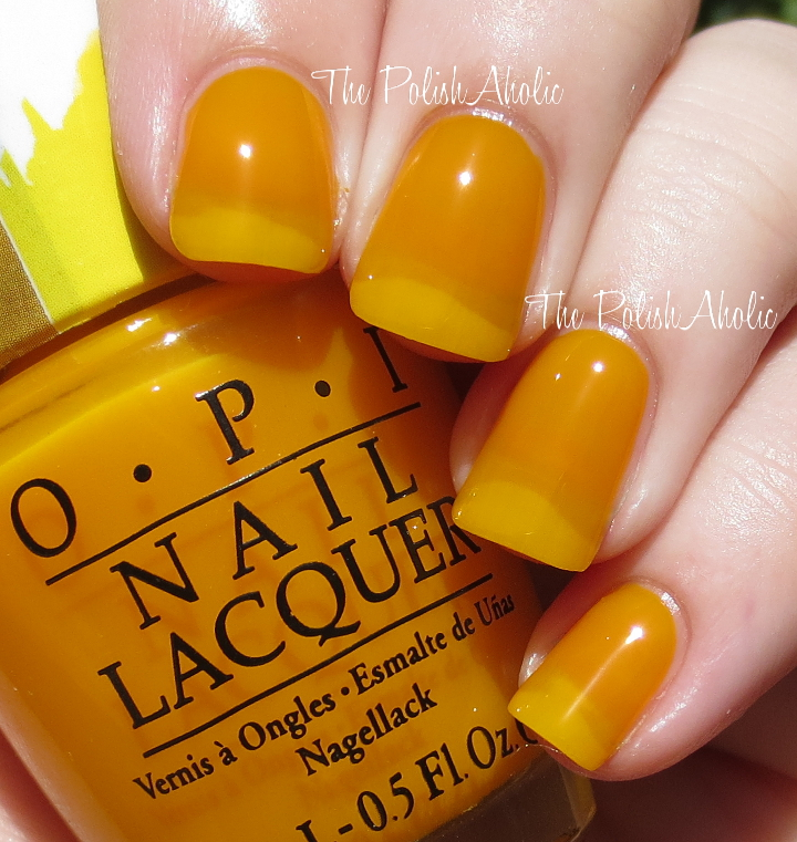 The PolishAholic: OPI Color Paints Collection Swatches & Review
