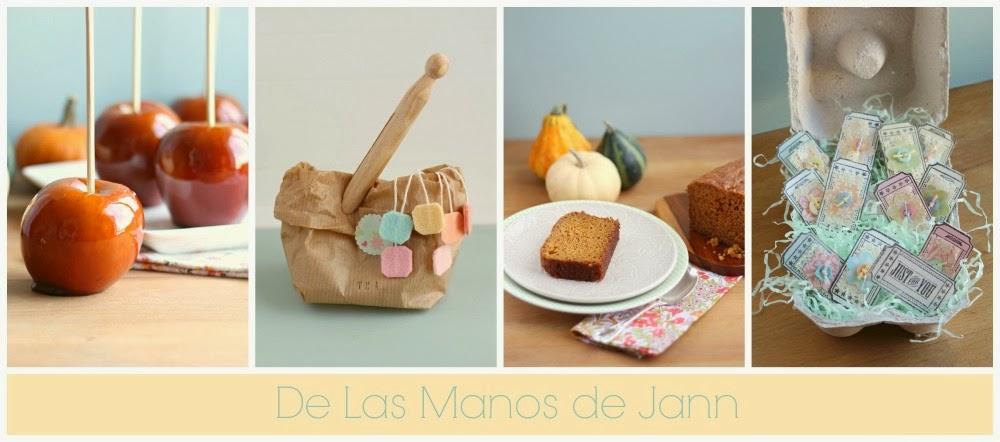 De las manos de Jann - manualidades, tarjetas, recuerdos para toda ocasión