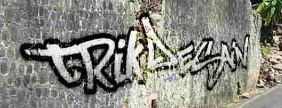 membuat tulisan graffiti dengan Photoshop