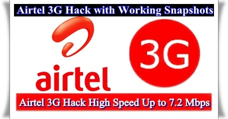 "airtel hacks Opera mini 5-browse and download using airtel airtel hack for free internet bsnl 3g 119 responses to ""airtel 3g/2g free unlimited internet working trick."