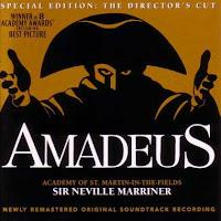 Amadeus [Grabación sonora] : banda sonora original de la película / Wolfgang Amadeus Mozart. (1985)
