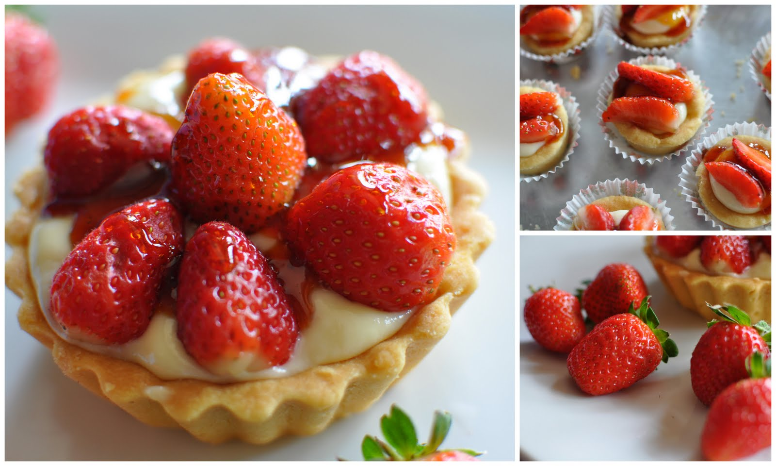 ... Guardian: Strawberry Shortbread Tart With Strawberry Toffee Drizzle