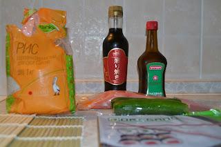 продукты для суши, фото