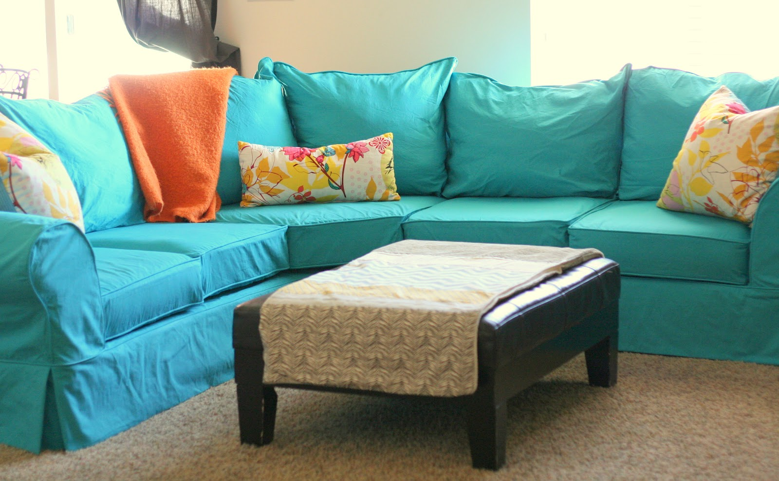 Custom Slipcovers By Shelley Camille 39 S Sectional