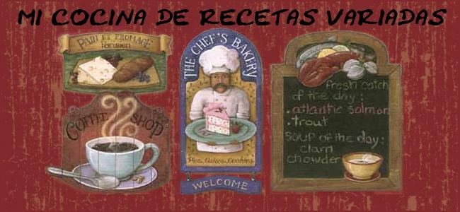 Mi Cocina de Recetas Variadas