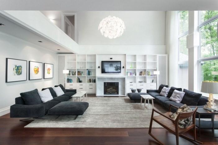 Diseos Para Interiores Stunning Sala De Estar Y Su Paleta De - Diseos-interior