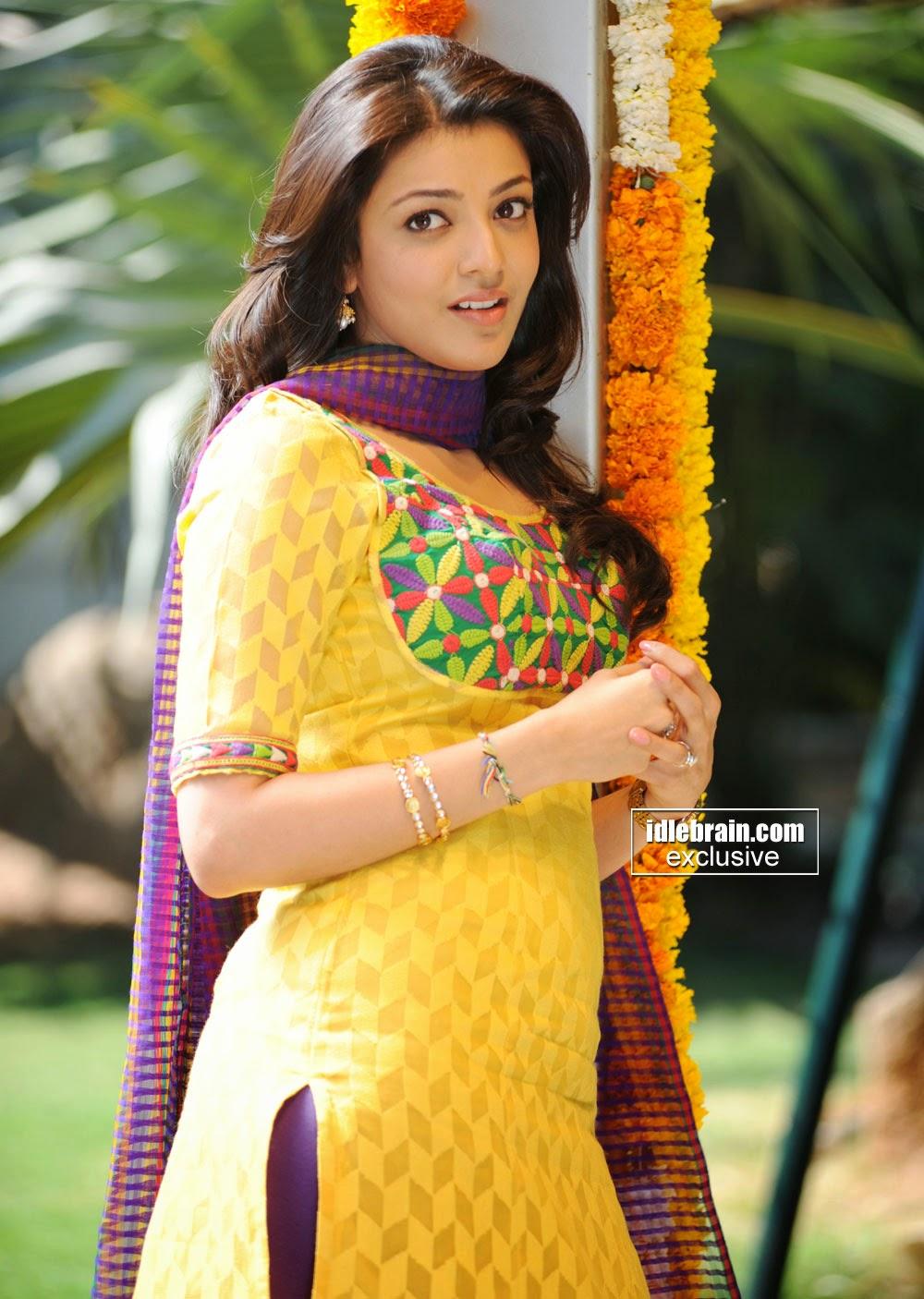 Kajal Agarwal yellow