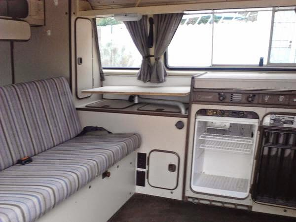 Used rvs 1982 vw westfalia vanagon for sale by owner for Interior westfalia