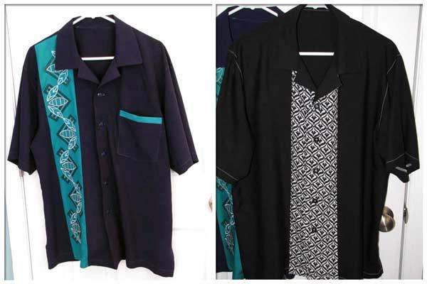 Both Poker Shirts - Kwik Sew 3484
