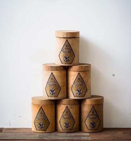 Wood Round Box