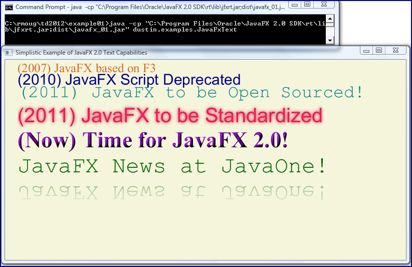 how to run java fx in intellij