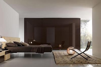 Habitación marrón