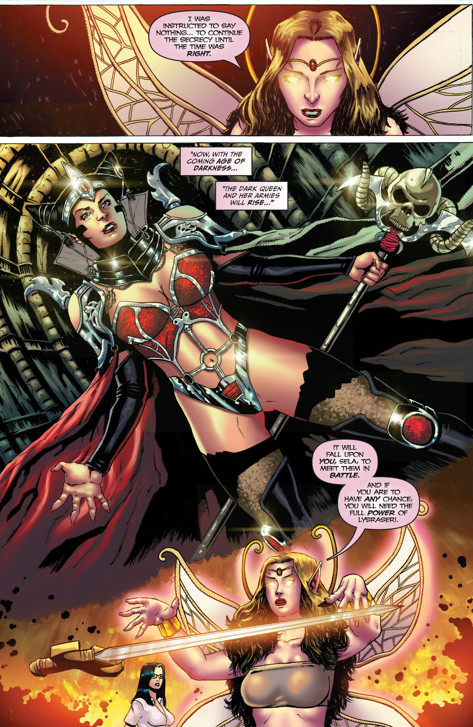 Grimm Fairy Tales (2005) Issue #93 #96 - English 22