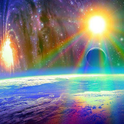 Rainbow Worlds Beyond the Veil Tachyonic