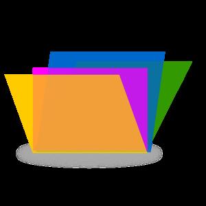 Multi-colored File Folders