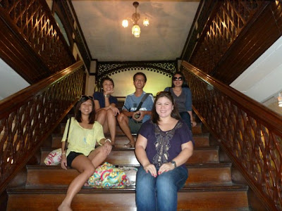Balay Negrense Stairs- Bacolod Must see