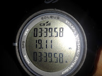 Lance Eaton's time on his first 30K.
