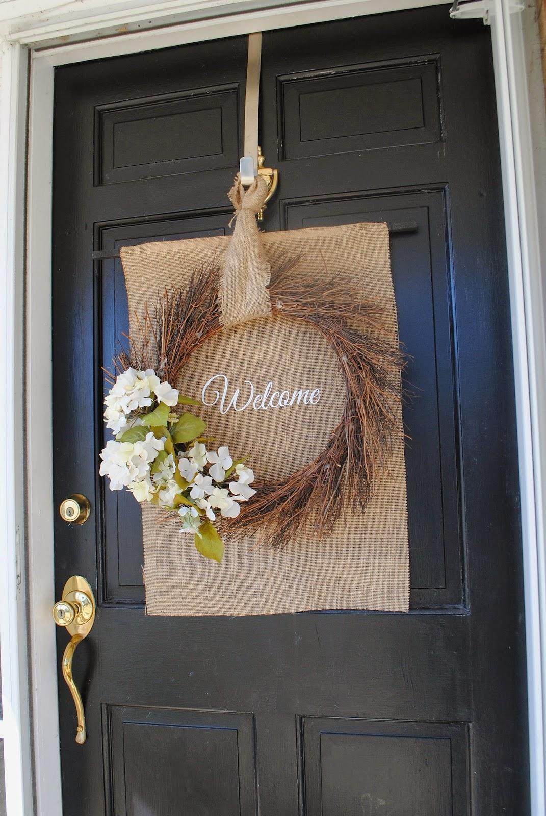 spring front door wreathsTwo It Yourself DIY Front Door Spring Wreath