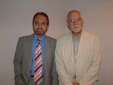 Con Luis Mateo Diez