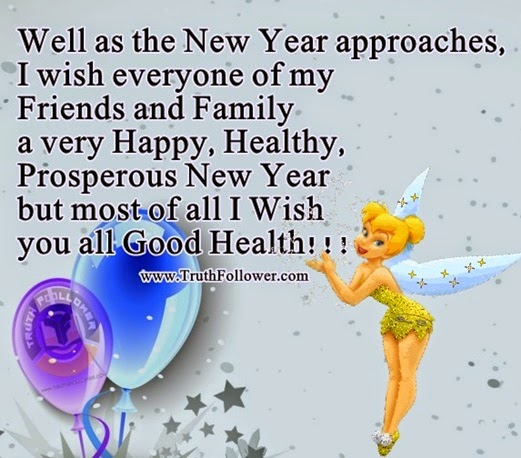 well as the new year approaches i wish everyone of my friends and family a very happy healthy prosperous new year but most of all i wish you all good