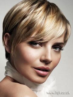 gambar gaya rambut pendek wanita