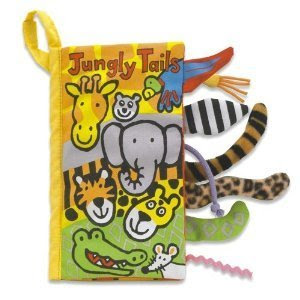 Pre-kindergarten toys - Jellycat Jungly Tails Book 8 inch