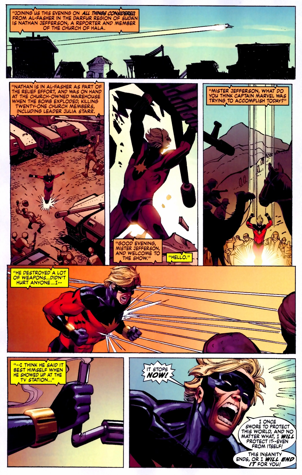 Read online Secret Invasion: The Infiltration comic -  Issue #5 - 18