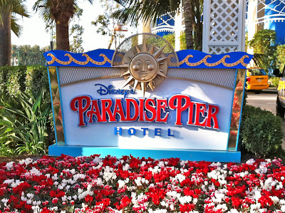 Paradise Pier Hotel Disneyland Resort sign advantages reasons